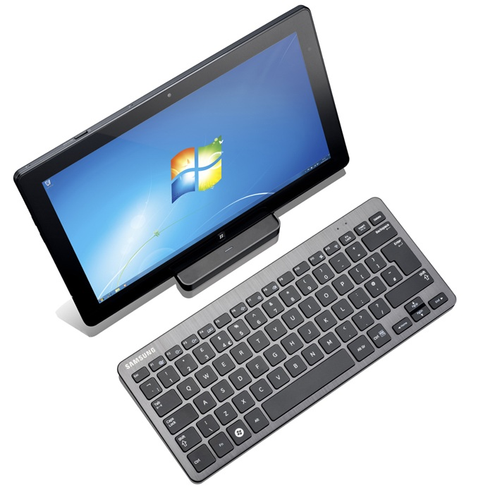 Samsung-Series-7-Slate-tablet-PC-on-dock-with-keyboard
