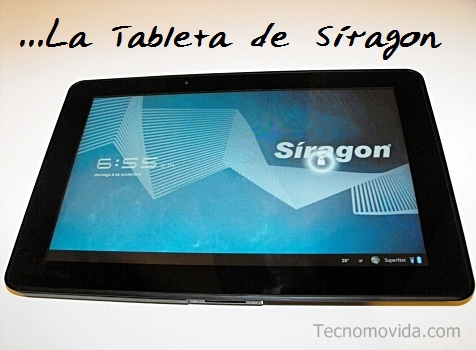 siragon tablet portada
