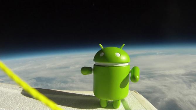 Android activaciones espacio