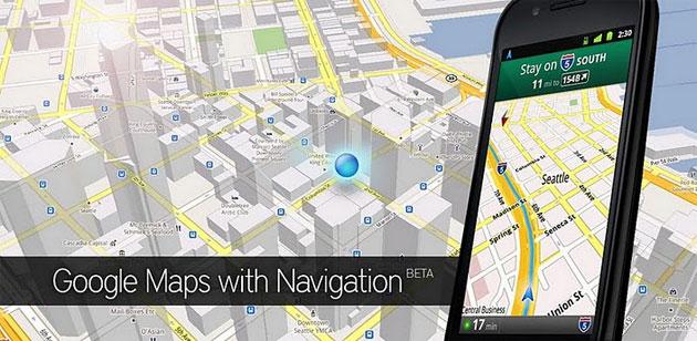 Google Maps GPlay