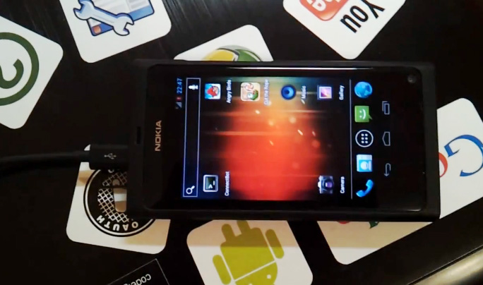 N9 Android ICS