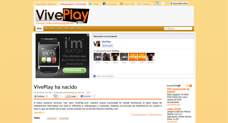 VivePlay ha nacido