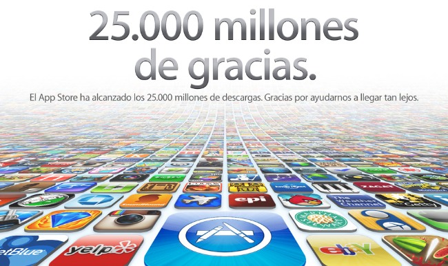 app store apple 25km