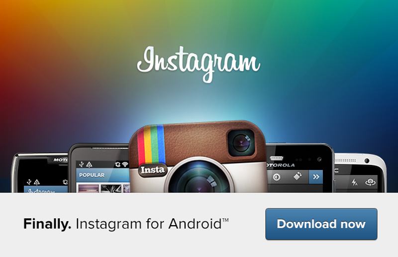 Instagram Android home