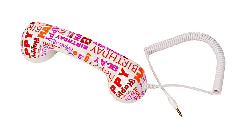 teléfonos móviles, celulares, Naical Akashi Happy Birthday, auricular retro,