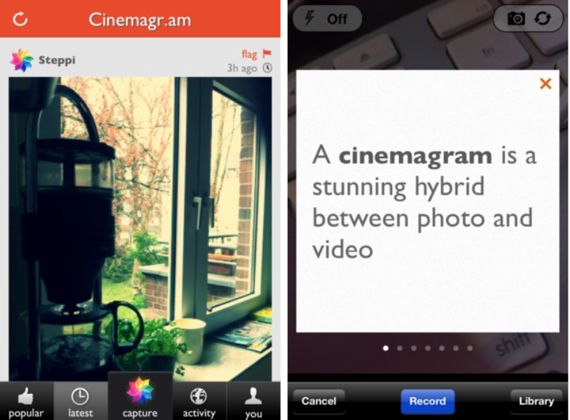 Celulares, Móviles, Teléfonos móviles, Cinemagram, Android, Aplicación