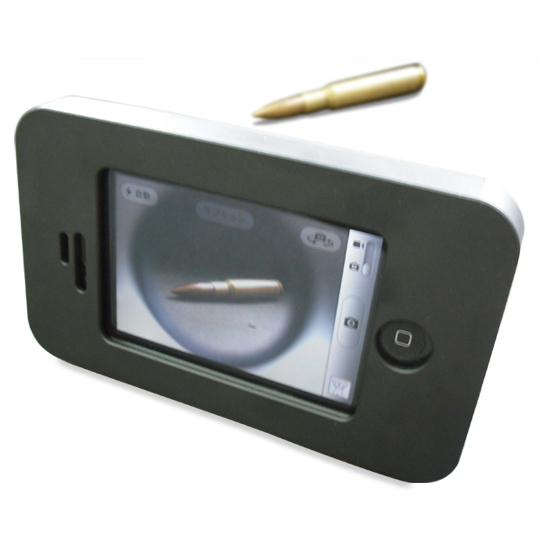 teléfonos móviles, celulares, móviles, funda antibalas iphone 4, iPhone 4, Apple