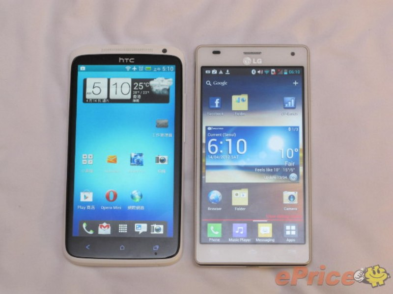teléfonos móviles, celulares, móviles, HTC One X , LG Optimus 4X HD , HTC , LG