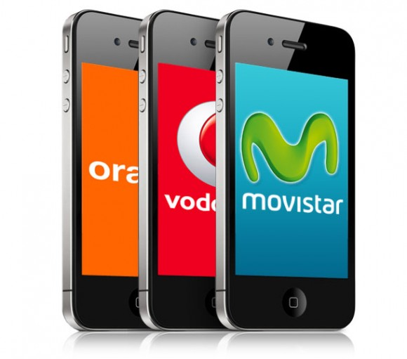 teléfonos móviles, celulares, móviles, operadoras, Orange , Movistar