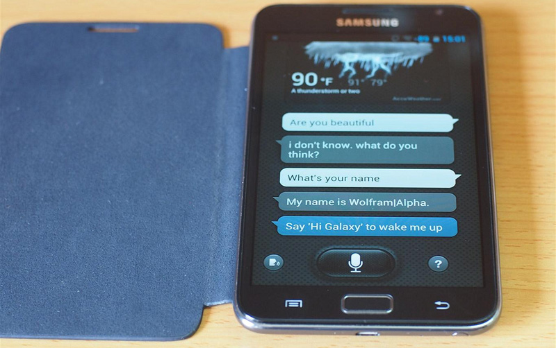Galaxy Note S Voice Galaxy S III S3