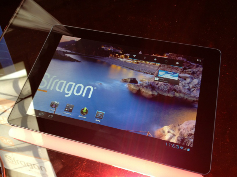 Siragon Tablet 4N front