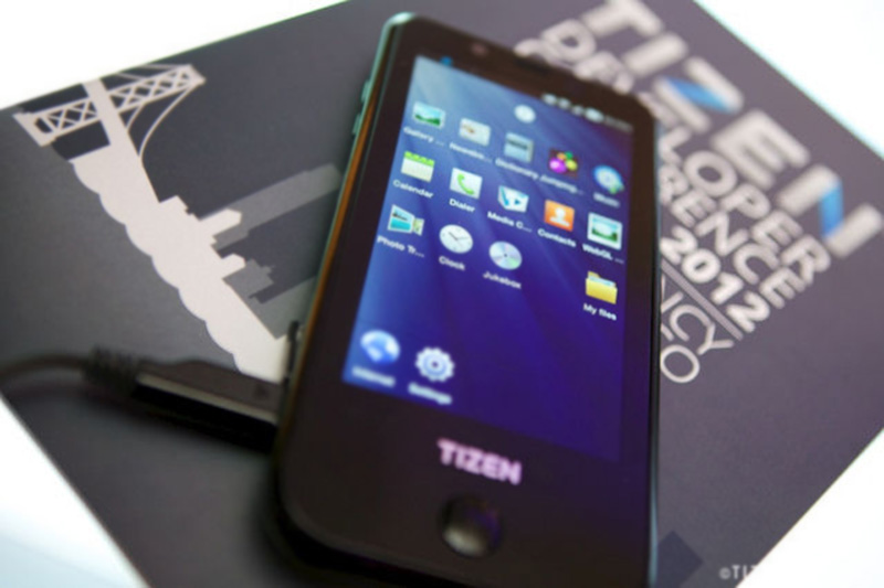 Tizen samsung smartphone