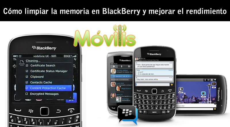 cómo limpiar memoria en blackberry