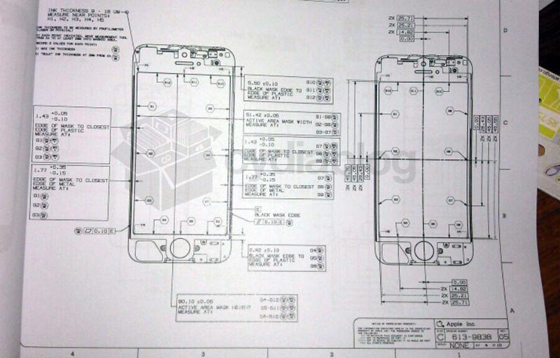 nuevo iPhone esquema