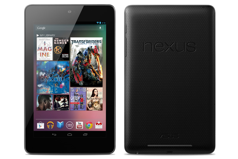 Google Nexus 7 home