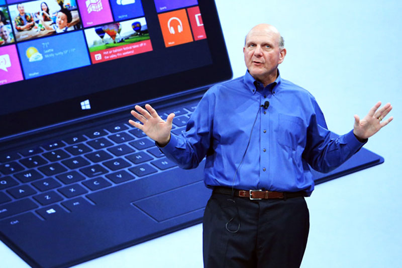 Microsoft Surface Ballmer