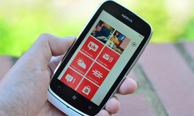 Nokia Lumia 610 blanco