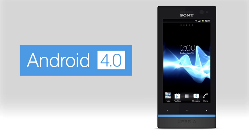 Sony Xperia S Android 4.0 ICS