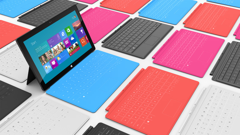 Surface de Microsoft