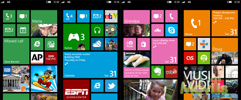 Windows Phone 8 star screen