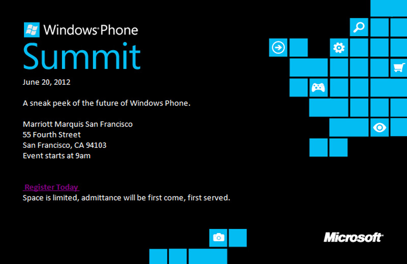Windows Phone developer summit