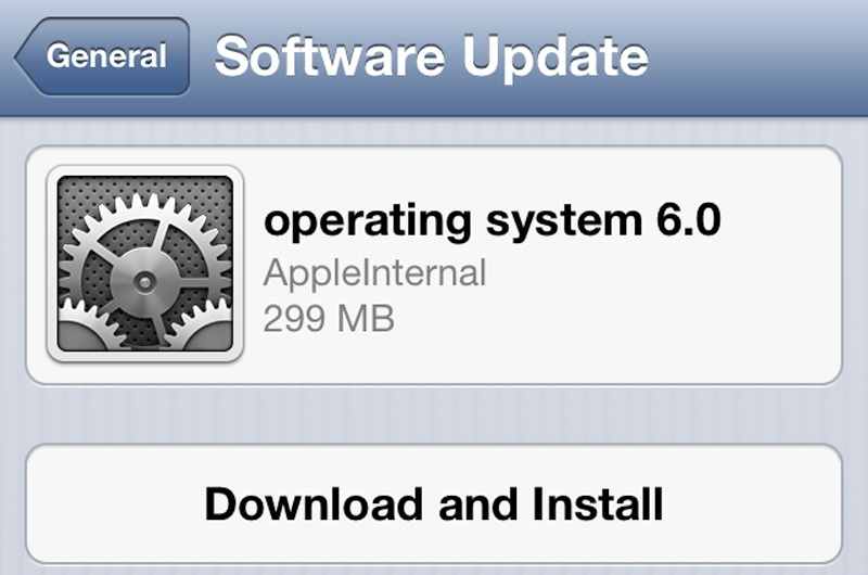 iOS 6 Beta 2 OTA Apple