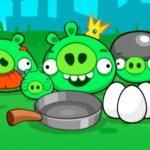 Angry birds pigs game
