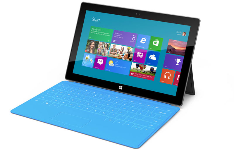 Microsoft Surface Cyan
