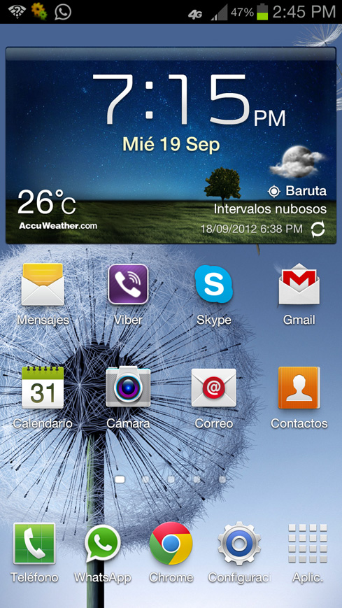 Samsung Galaxy S III Movistar LTE 4G