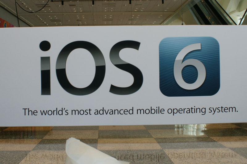 iOS 6 publicidad