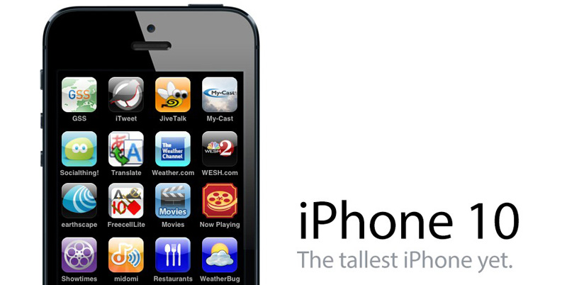 iPhone-10 home