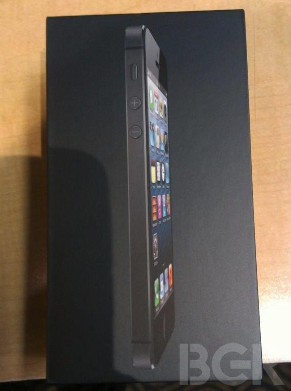 iPhone 5 caja
