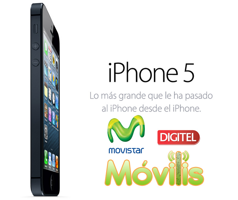 iPhone 5 movistar digitel Venezuela