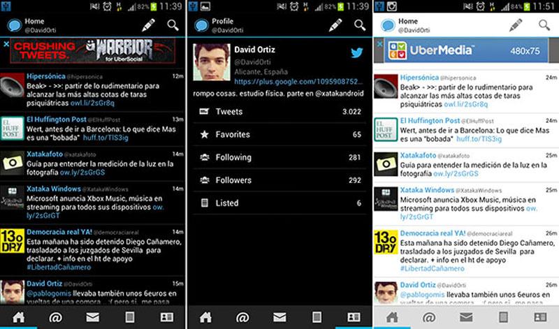 Echofon Android