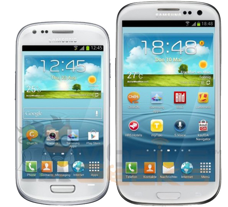 Galaxy-S3-Mini vs Galaxy-S3