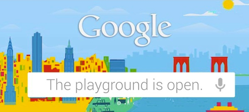 Google Playground is open event