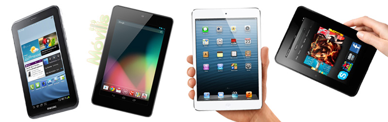 ipad mini nexus 7 galaxy tab 2 kindle fire hd