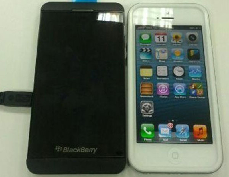 BlackBerry 10 BB10 iPhone 5