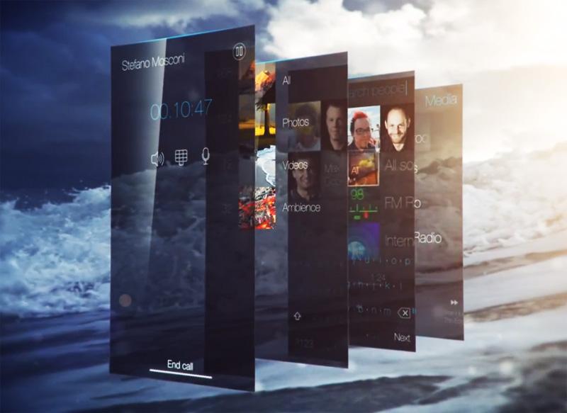 Sailfish OS UI Interfaz de Usuario