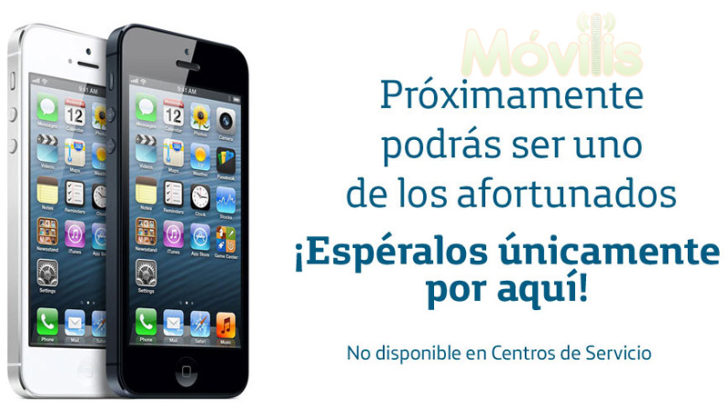 iPhone 5 Movistar  home