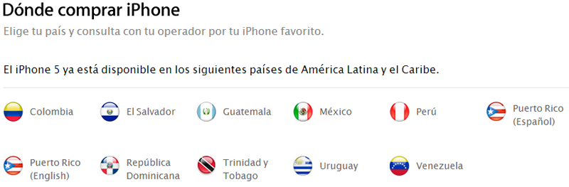 iPhone 5 en Venezuela Movistar Digitel