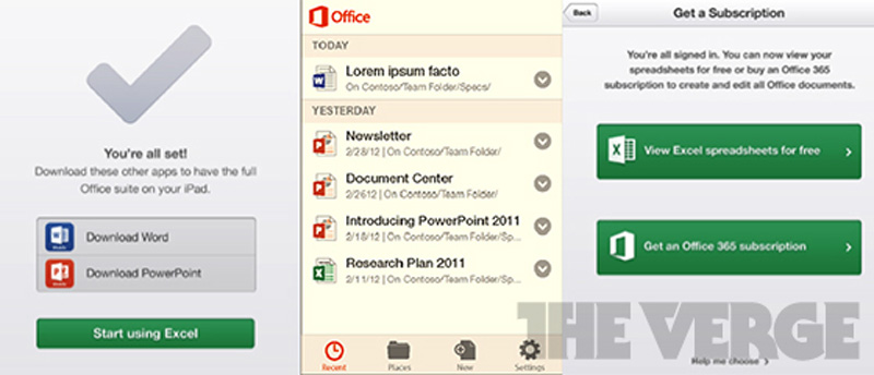 Office Mobile iOS Microsoft
