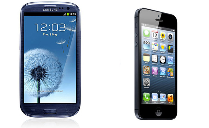 iPhone5-Samsung-Galaxy-SIII
