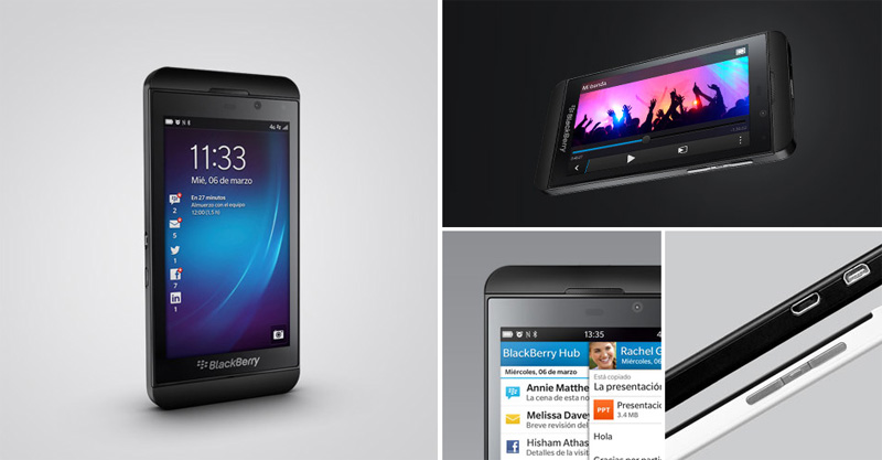 BlackBerry Z10 en Venezuela