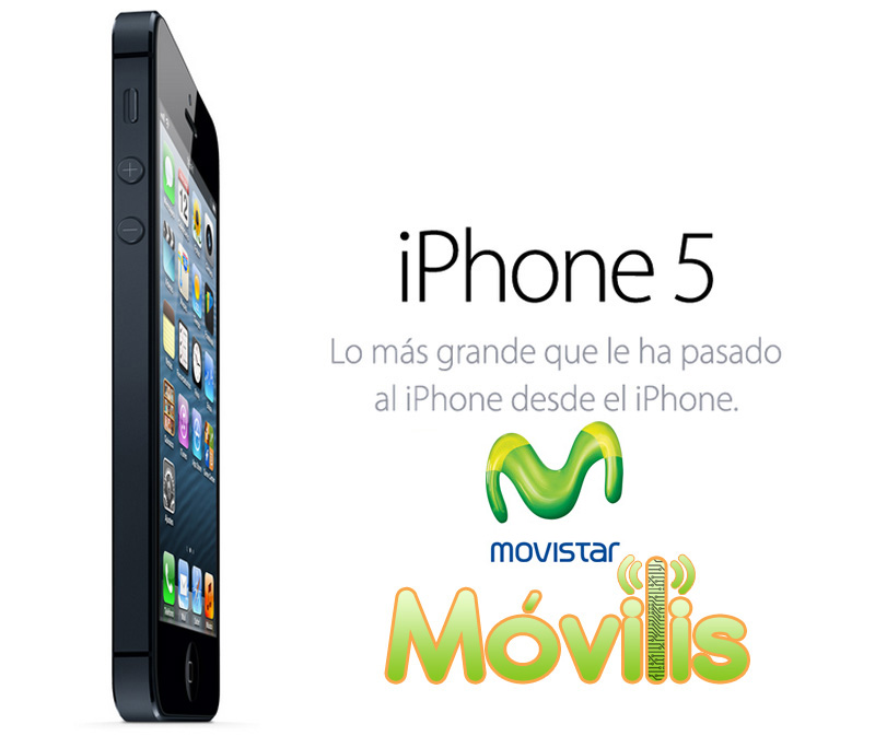 iPhone 5 movistar