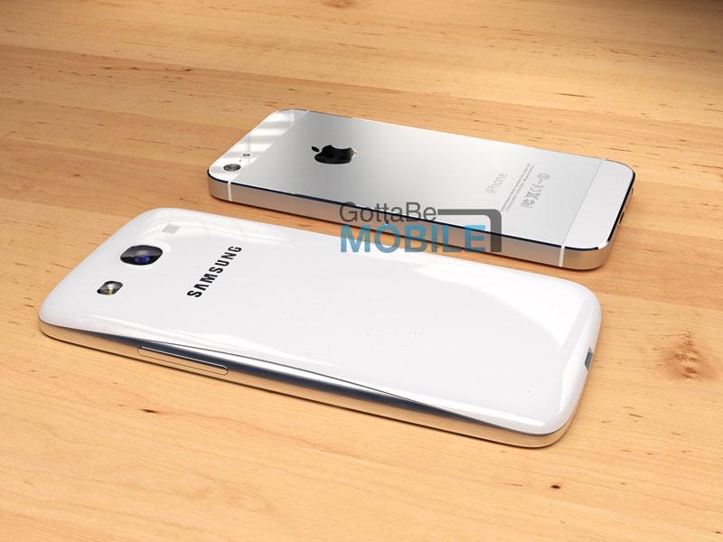 Samsung Galaxy S4 vs iPhone 5
