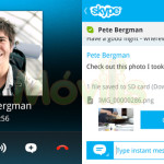Skype para BlackBerry 10 BB10