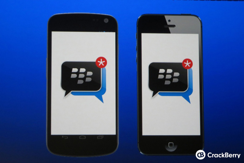 BBM Android iOS BlackBerry Messenger