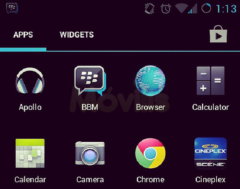 BBM Android BlackBerry