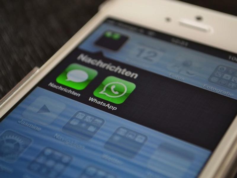 WhatsApp iOS iPhone 5